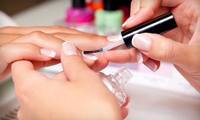 Tara Burmood at Salon Capelli - Omaha: Classic or Deluxe Shellac Manicure or Polish-Change Package for Toes from Tara Burmood at Salon Capelli (Up to 52% Off)