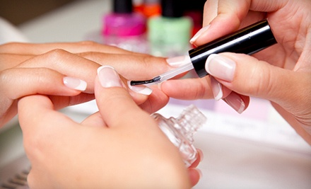 Spa Deluxe Shellac Manicure (a $50 value) - Tara Burmood at Salon Capelli in Omaha