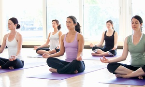 Ananda Yoga And Pilates: Four Weeks of Unlimited Yoga Classes at Ananda Yoga Pilates & Wellness (58% Off)