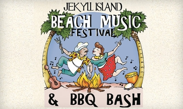 Beach Music Festival & BBQ Bash - Thalmann: $6 Ticket for the Beach Music Festival & BBQ Bash at Jekyll Island Beach ($20 Value). Choose between 8/20 and 8/21.