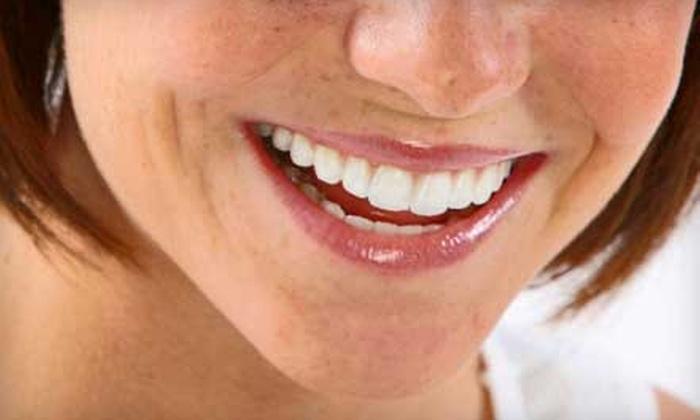 Laser Smile Studio - Denton: Dentistry Package at Laser Smile Studio in Denton. Two Options Available.
