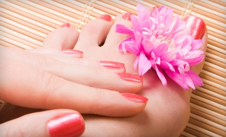 Holistic Mani-Pedi (a $50 Value) - The Pink Lotus Wellness Center in Lawton