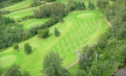 18-Hole Round of Golf for Two with Cart Rental - Kachur's Golf Club in Prince Albert