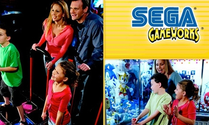 GameWorks - The Strip: $16 for an All-Day Video-Game Play Pass at GameWorks