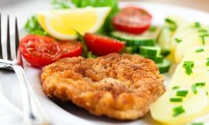 La Blanca Steakhaus: Schnitzel nach Wiener Art All-you-can-eat mit Beilagen für zwei oder vier Personen im La Blanca Steakhaus (53% sparen*)