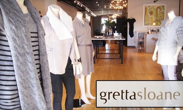 Gretta Sloane - Oklahoma City: $50 for $100 Worth of Designer Apparel and Accessories at Gretta Sloane