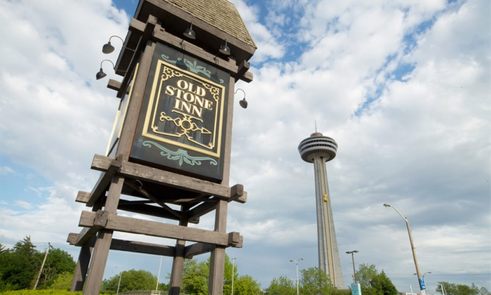 Old Stone Inn Boutique Hotel - Niagara Falls, ON: 1-Night Stay for Two with Optional Wine Package at Old Stone Inn Boutique Hotel in Niagara Falls, ON