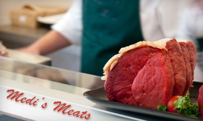 Medi's Meats - Sioux Falls: $149 for a Premium Meat Assortment from Medi's Meats of Sioux Falls
