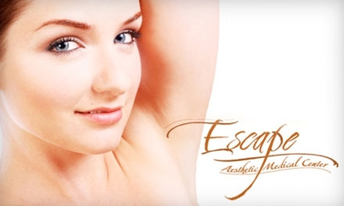 Escape Aesthetic Medical Center - Bay Ridge & Fort Hamilton: $99 for Six Laser Hair-Removal Treatments at Escape Aesthetic Medical Center in Bay Ridge (Up to $1,800 Value)