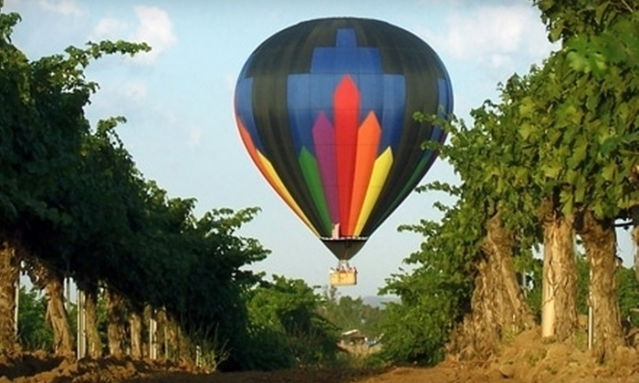 Sunrise Balloons - Murrieta: Sunrise Hot Air Balloon Ride for Two on Weekday or Weekend from Sunrise Balloons in Temecula ($438 Value)
