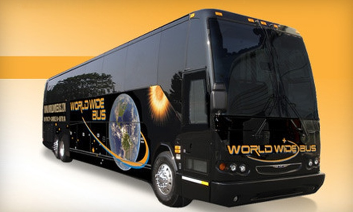 World Wide Bus - Multiple Locations: $24 for a Round-Trip Ticket Between Manhattan and Newton or Manhattan and Cambridge from World Wide Bus (Up to $50 Value)