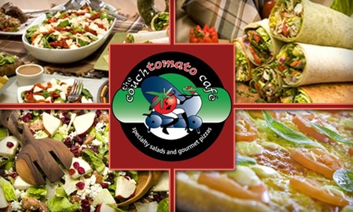 The Couch Tomato Café - Manayunk: $8 for $16 Worth of Fresh Pizza, Soup, Salad, and More at The Couch Tomato Café