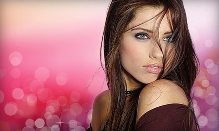 Mina's Salon - Plano: Brazilian Blowout or Brazilian Blowout with Haircut and Style at Mina's Salon in Plano (Up to 76% Off)