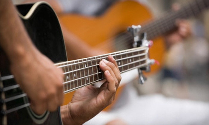 The Musicology - Northwest Side: $39 for Four Half-Hour Private Music Lessons on Guitar, Bass Guitar, or Drums at The Musicology (Up to $90 Value)