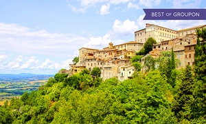 Tuscany Vacation with Airfare and Rental Car from Gate 1 Travel: ✈8-Day Tuscany Vacationwith Airfare and Rental Car. Price per Person Based on Double Occupancy (Buy 1 Groupon/Person).