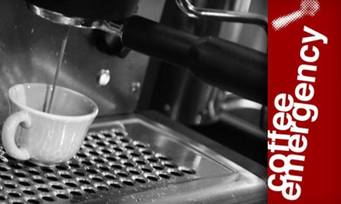 Coffee Emergency - University Place: $7 for a Pound of Beans and Drink of Your Choice at Coffee Emergency (Up to $16.30 Value)