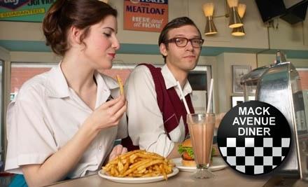 $15 Groupon to Mack Avenue Diner - Mack Avenue Diner in Grosse Pointe Woods