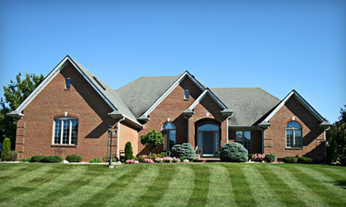 Secure Turf - Goose Creek: $79 for Two Spring Lawn Jump-Start Visits from Secure Turf (a $332 Value)