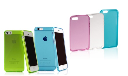 CASEual Flexo Slim Case for iPhone 5/5S or 6 in Choice of Colour for £7.90