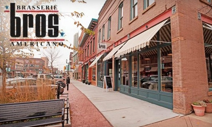 Bros Brasserie Americano - Downtown: $15 for $30 Worth New American Cuisine and Craft Beers at Bros Brasserie Americano