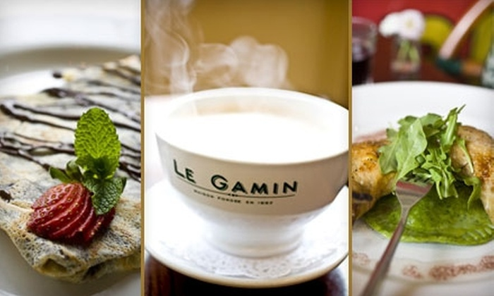 Le Gamin - New York City: French Cuisine & Drinks at Le Gamin. Choose Between Two Options.