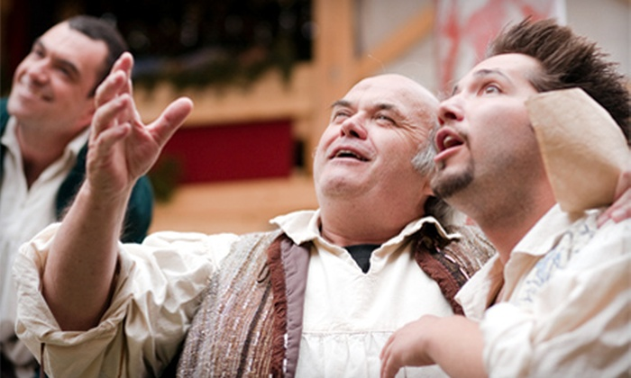 """New World Theatre Project  - Multiple Locations: One Ticket to """"The Merchant of Venice"""" or """"Henry IV, Part I"""" at New World Theatre Project in Cupids. Six Performances Available."""