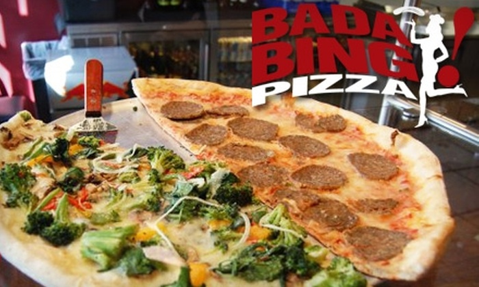 Bada Bing Pizza - University: $6 for $16 Worth of New York–Style Pizza at Bada Bing Pizza
