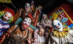 Massacre Haunted House: VIP Visit for Two, Four, or Six at Massacre Haunted House (Up to 53% Off)