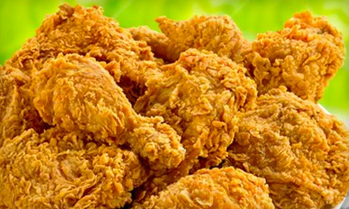 Chicken Magician - Ridgefield Park: $19 for a Family-Style Fried-Chicken Meal at Chicken Magician in Ridgefield Park ($41.77 Value)