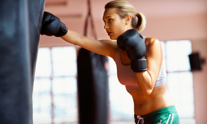 Knoxville Brazilian Jiu-Jitsu - Multiple Locations: 20 Kickboxing Classes or Four Weeks of Boot-Camp Classes at Knoxville Brazilian Jiu-Jitsu (Up to 95% Off)