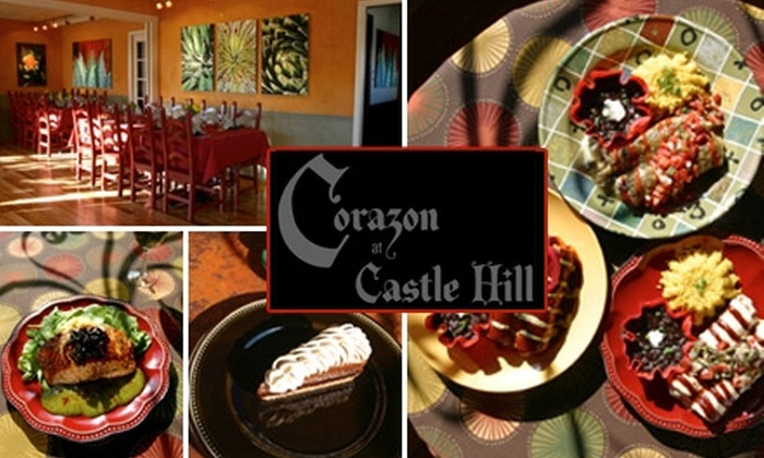 Corazon at Castle Hill - Old West Austin: $15 for $30 Worth of Authentic Southwestern Fare at Corazon at Castle Hill