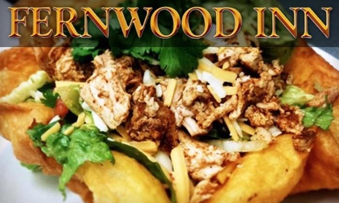 Fernwood Inn - Fernwood: $10 for $20 Worth of Gastro Pub Fare and Drinks at the Fernwood Inn
