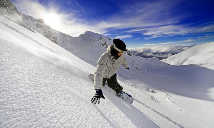 Raging Buffalo Snowboard Ski Park - Raging Buffalo Snowboard Park: Ski or Snowboarding Packages at Raging Buffalo Snowboard Ski Park (Up to 68% Off). Three Options Available.