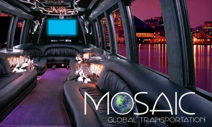 Mosaic Global Transportation - San Carlos: $50 for $100 Worth of Services from Mosaic Global Transportation