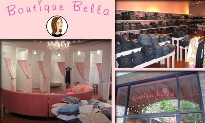 Boutique Bella - Nashville-Davidson metropolitan government (balance): $20 for $50 Worth of Designer Denim at Boutique Bella