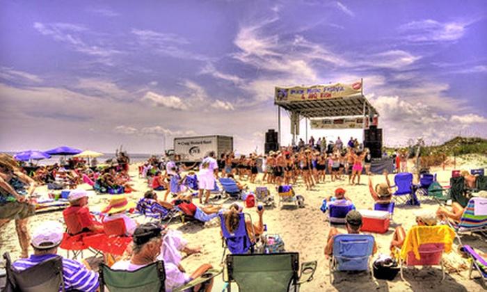 Jekyll Island Beach Music Festival - Jekyll Island: $8 for One Ticket to the Jekyll Island Beach Music Festival ($20 Value)