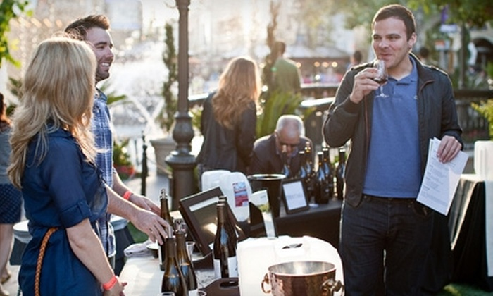 Learn About Wine - Mid-Wilshire: $25 for One Ticket to a Summer Taste Event from Learn About Wine at The Grove (Up to $60 Value). Six Events Available.