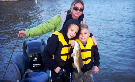 Half-Day Fishing Trip for Two (a $239 Value) - Go Fish Strong in Norman