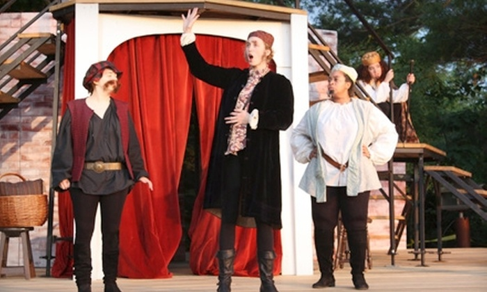 """Hampshire Shakespeares A midsummer Nights Dream - Amherst: $17 for Two Tickets to """"The Winter's Tale"""" Presented by Hampshire Shakespeare Company in Amherst"""