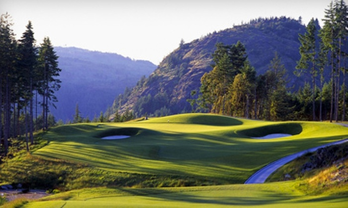 Bear Mountain Resort - Victoria: $79 for a Golf Outing at Bear Mountain Resort (Up to $176.88 Value)