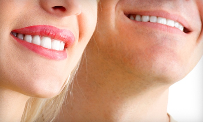 Tooth Time Family Dentistry - Multiple Locations: Dental Package with Exam, X-rays, and Cleaning, or Teeth Whitening at Tooth Time Family Dentistry (Up to 75% Off)