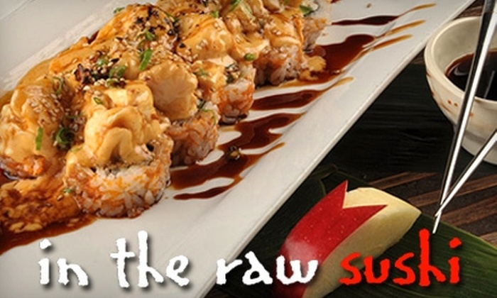 In the Raw - Downtown Oklahoma City: $12 for $25 Worth of Sushi and Drinks at In The Raw