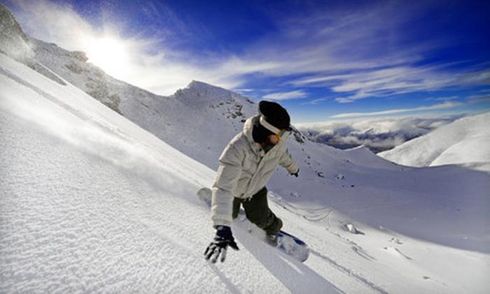 Santa Fe Mountain Sports - Santa Fe: Ski or Snowboard Edge and Wax or Tune-Up at Santa Fe Mountain Sports (Up to 51% Off)