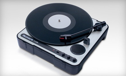 Goggie - Portable USB Turntable in