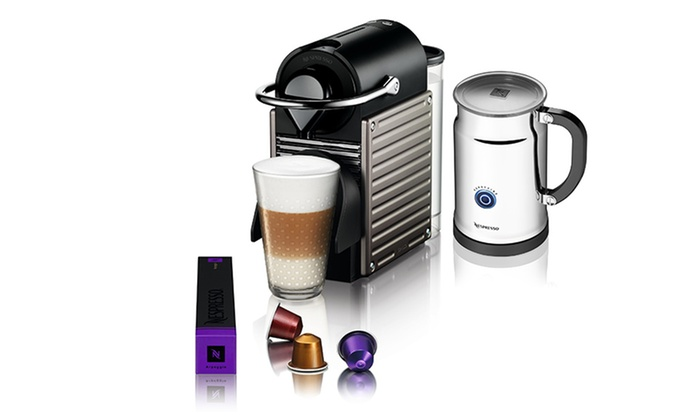 Nespresso K Cup Coffee Maker : Pixie Single-Cup Coffee Makers Groupon Goods