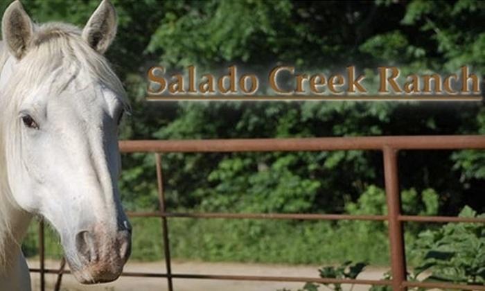 Salado Creek Ranch - San Antonio: $20 for a One-Hour, Guided Trail Ride at Salado Creek Ranch ($40 Value)