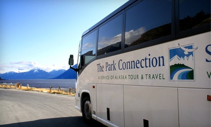 Alaska Park Connection - Multiple Locations: $40 for One Same-Day Roundtrip Ticket ($80 Value) or $27 for a One-Way Ticket (Up to $65 Value) Between Seward and Anchorage on the Alaska Park Connection Motorcoach