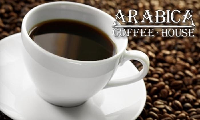 Arabica at Cobblestone - Elyria: $10 for $20 Worth of Coffee, Sandwiches, and More at Arabica at Cobblestone in Elyria