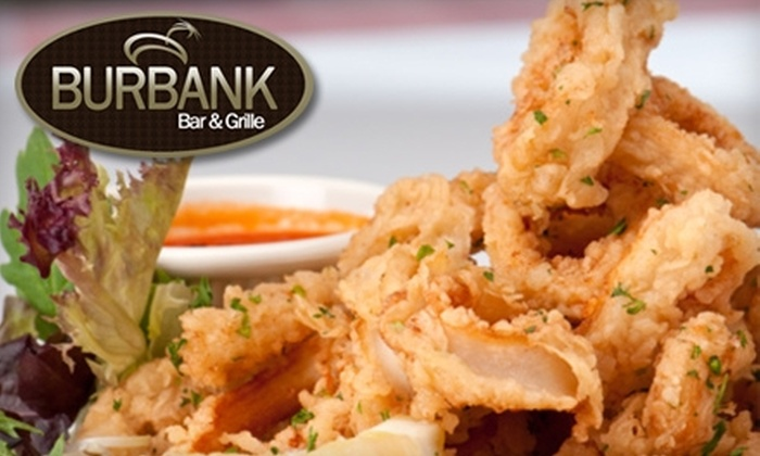Burbank Bar & Grille - Burbank: $20 for $40 Worth of American Fare and Drinks at Burbank Bar & Grille