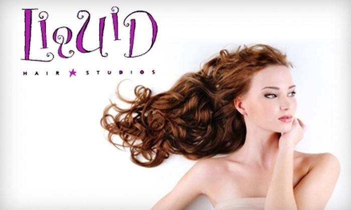 Liquid Hair Studios - South End: Haircut or Color Service at Liquid Hair Studios. Choose from Three Options.